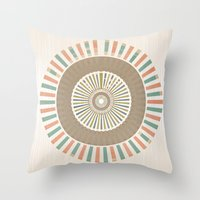infinity Throw Pillows featuring Infinity by Tammy Kushnir