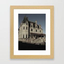 Biltmore Estate Asheville, NC side view Framed Art Print