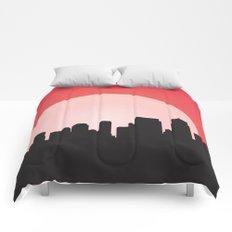 Urban Sunset Comforters