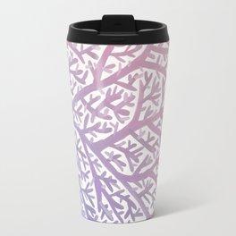Fan Coral – Rose Quartz & Serenity Travel Mug