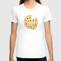 pizza T-shirts featuring Pizza! by Terry Irwin