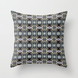 """forest """"troll"""" in the snow #2 pattern Throw Pillow"""