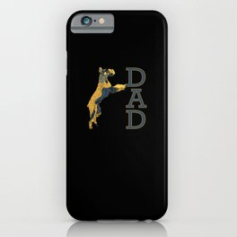 Giant Schnauzer DAD College Style Christmas iPhone Case
