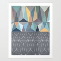 nordic Art Prints featuring Nordic Combination 31 by Mareike Böhmer