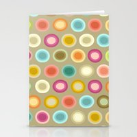 buffy Stationery Cards featuring polka buffy by Sharon Turner