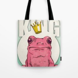 I am the Frog King! Tote Bag