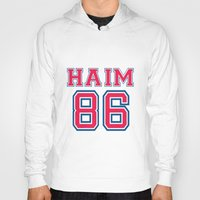 haim Hoodies featuring HAIM 86 by it's haim time
