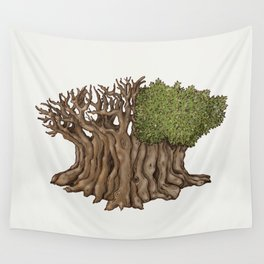 Legendary Tree Wall Tapestry