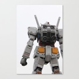 Gundam to the rescue! Canvas Print