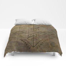 Binding Rune - Joy of Fortunes Engraved Comforters