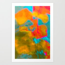 Eccentric Colors Art Print
