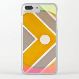 Fish - color graphic Clear iPhone Case