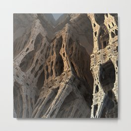 Necropolis Metal Print