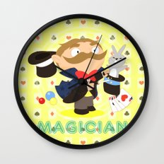 Magician Wall Clock