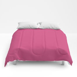 Pink Yarrow   Pantone Fashion Color Spring : Summer 2017   Solid Color Comforters