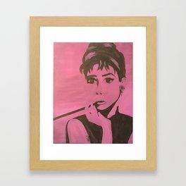 AUDRY POP Framed Art Print