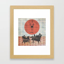 The Candidate Framed Art Print