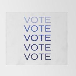 VOTE VOTE VOTE VOTE VOTE Throw Blanket