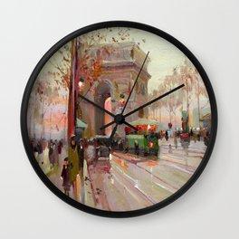 Triumphal arch Wall Clock