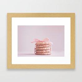 Butter And Love Framed Art Print