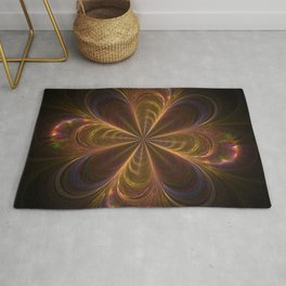 super sonic light Rug