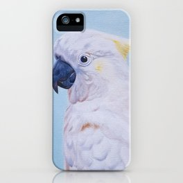 Sulphur-Crested Cockatoo iPhone Case