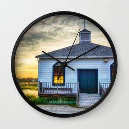 Pawleys Island Chapel Wall Clock