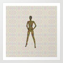 Portrait of A Woman of Color Art Print