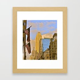 Empire State Building, NYC (6) Framed Art Print
