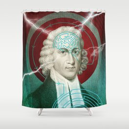 The Mind Shower Curtain