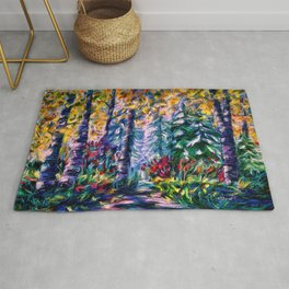 Deep in the Woods Rug