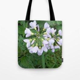 little purple flowers Tote Bag