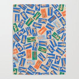 DUDE BEACH, by Frank-Joseph Poster