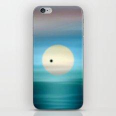 Venus in solar transit. iPhone & iPod Skin