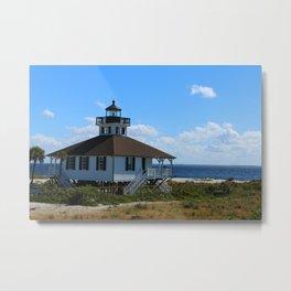 Port Boca Grande Light Metal Print