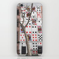 house of cards iPhone & iPod Skins featuring House of Cards by AdamSteve