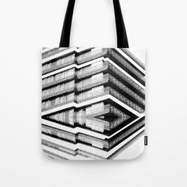 Hotel Merriot Budapest. Deconstruction Tote Bag