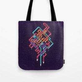 Weaving Lines Tote Bag