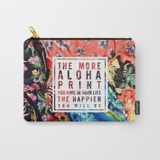Aloha Print Life Carry-All Pouch