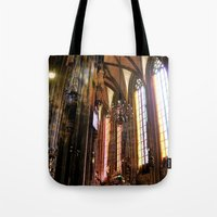 vienna Tote Bags featuring Only Vienna by Stokes Whitaker