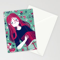 Flowe Bed Stationery Cards