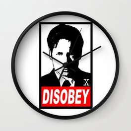 Disobey Mulder Wall Clock