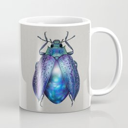 Black Opal Beetle Coffee Mug