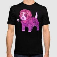 Kurt Russell Terrier - Snake Plissken Mens Fitted Tee Black LARGE