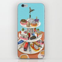 british iPhone & iPod Skins featuring a very British past time by John Holcroft