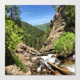 Mountain Drop Canvas Print