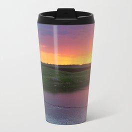 North Dakota Sunset Travel Mug
