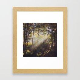 Canaan Valley Light Framed Art Print
