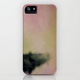 Misty Morning Lakeside iPhone Case