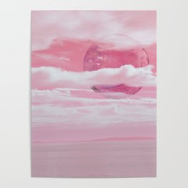 Pink Planet Poster